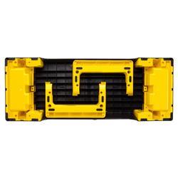 Stepbankje Comfort zwart geel