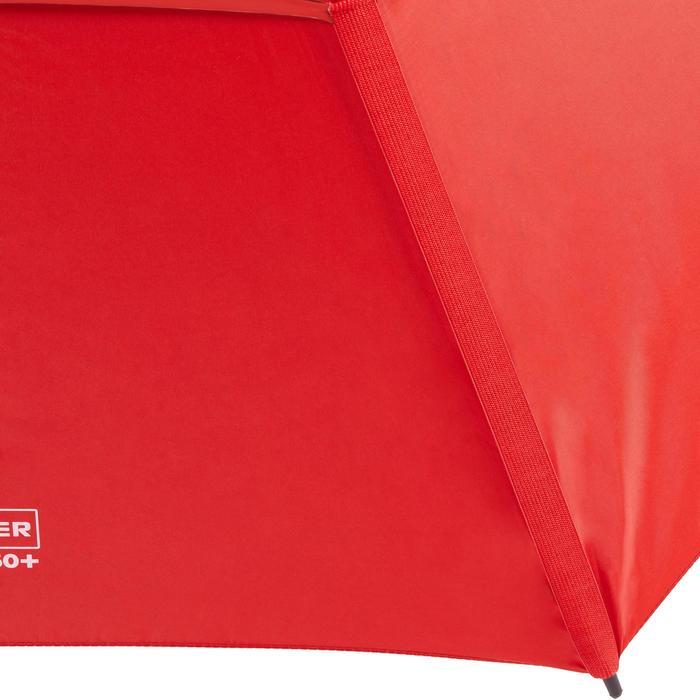 Golfparaplu 900 met uv-bescherming donkerrood