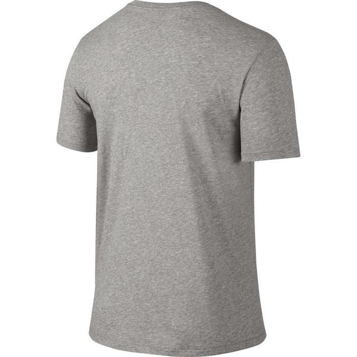 Heren T-shirt DFC 2.0 Nike 500 voor gym en stretching grijs