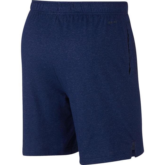 Short Nike 500 Gym Stretching homme bleu chiné - 1488360