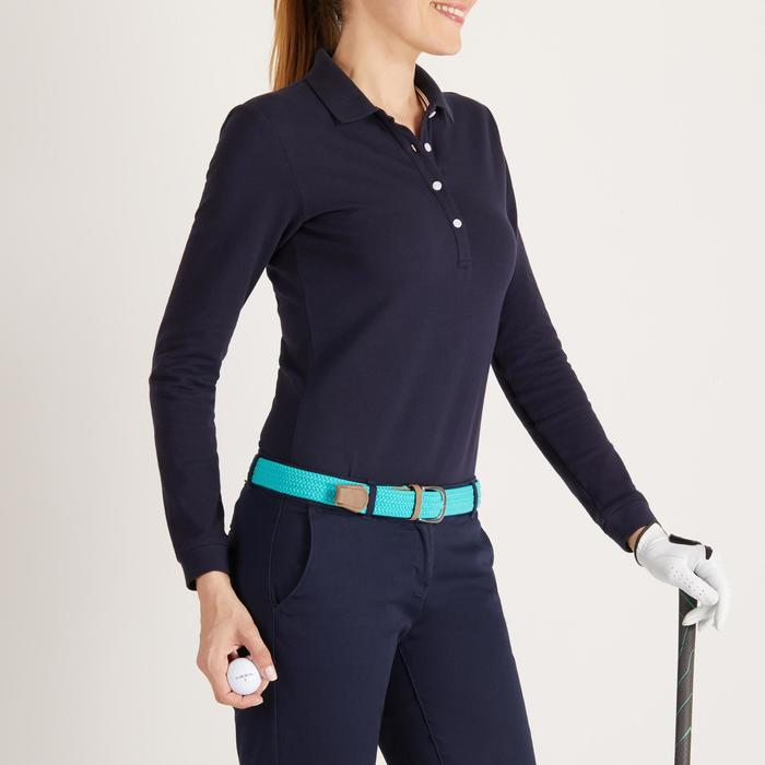 POLO MANCHES LONGUES GOLF FEMME 500 - 1488373