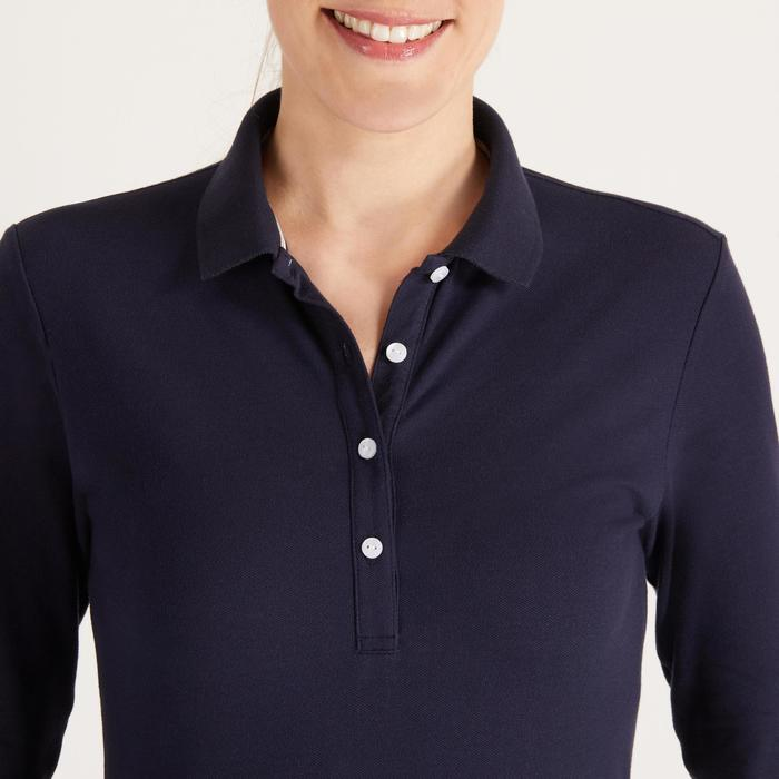POLO MANCHES LONGUES GOLF FEMME 500 - 1488383