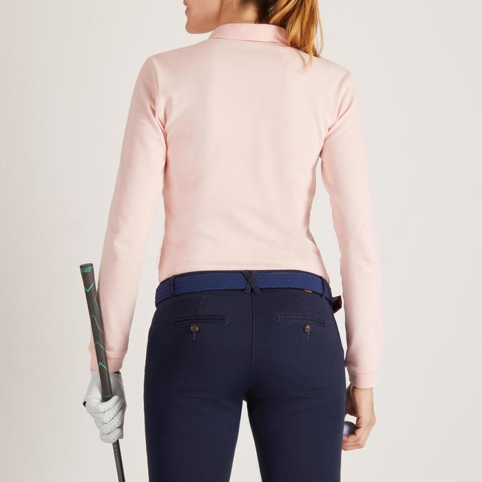 POLO MANCHES LONGUES GOLF FEMME 500 - 1488389