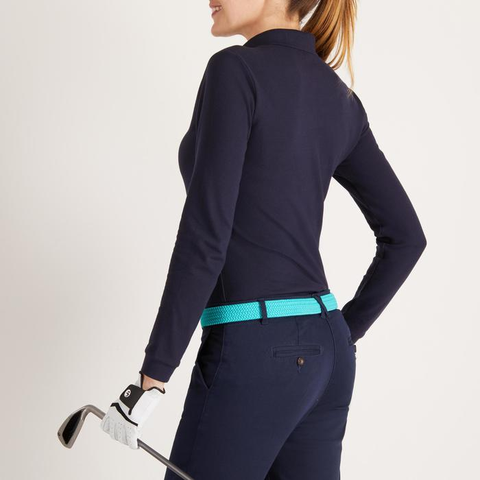 POLO MANCHES LONGUES GOLF FEMME 500 - 1488392