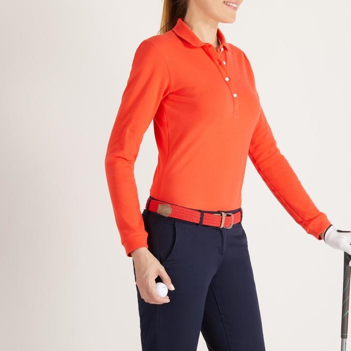POLO MANCHES LONGUES GOLF FEMME 500 - 1488395