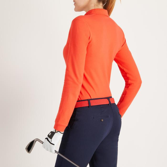 POLO MANCHES LONGUES GOLF FEMME 500 - 1488400