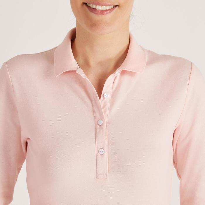 POLO MANCHES LONGUES GOLF FEMME 500 - 1488401