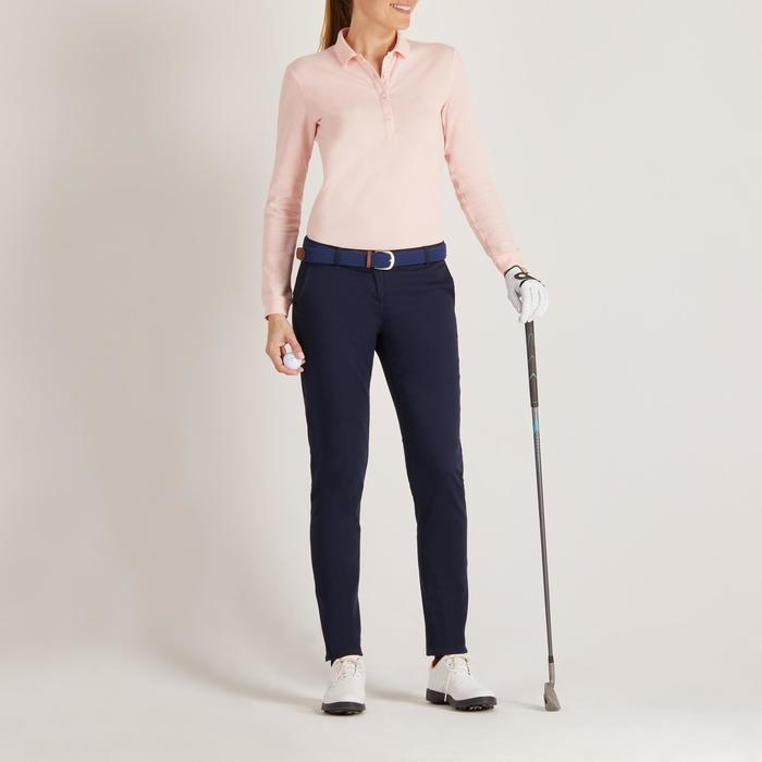 POLO MANCHES LONGUES GOLF FEMME 500 - 1488404