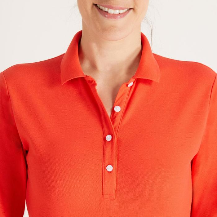 POLO MANCHES LONGUES GOLF FEMME 500 - 1488406
