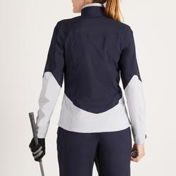 Golf Regenjacke 900 Damen marineblau/grau wasserdicht