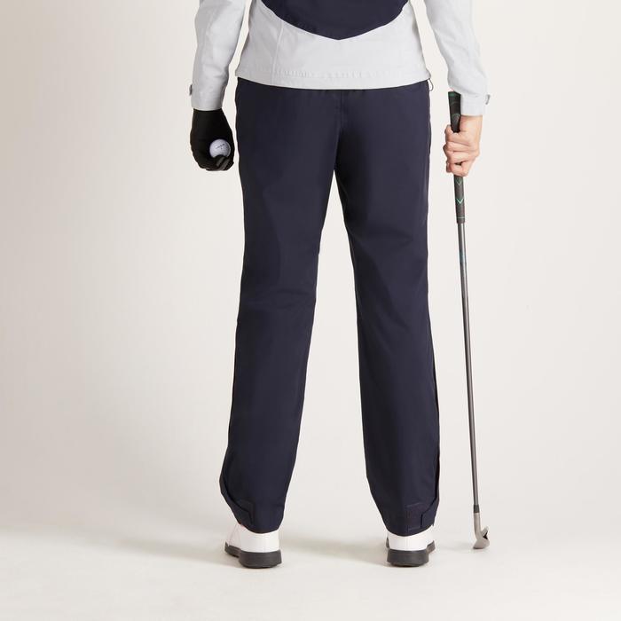 Dames regenbroek 900 voor golf marineblauw - 1488433