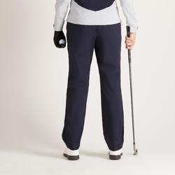 Dames regenbroek voor golf marineblauw
