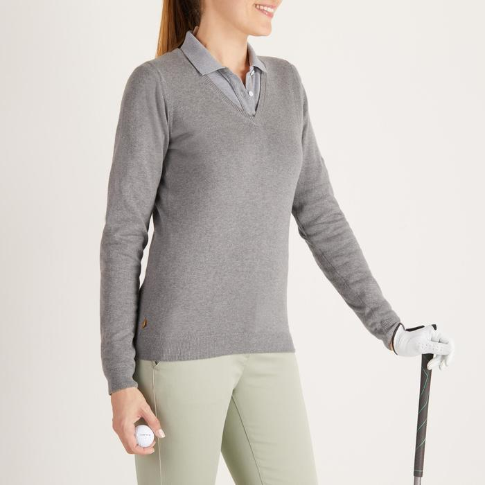 Golf Pullover Damen grau