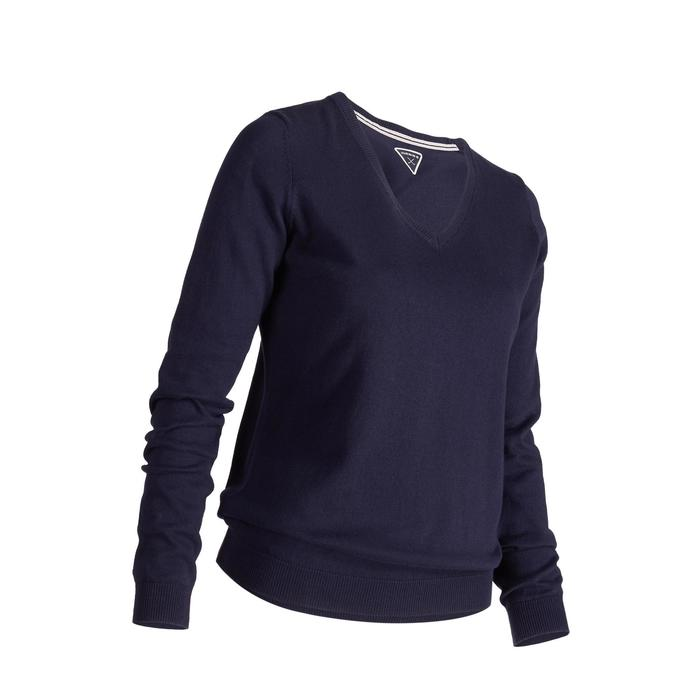 Golf Pullover Damen marineblau