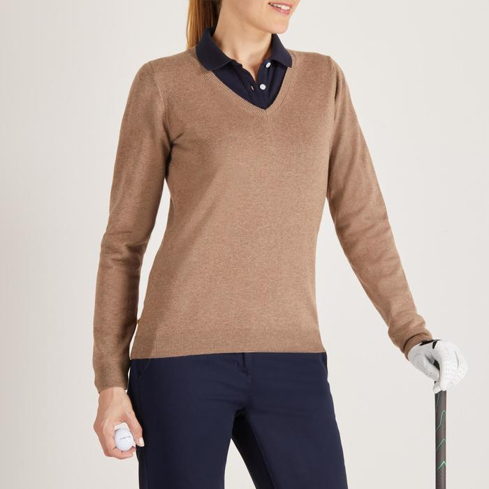 Golf Pullover Damen beige