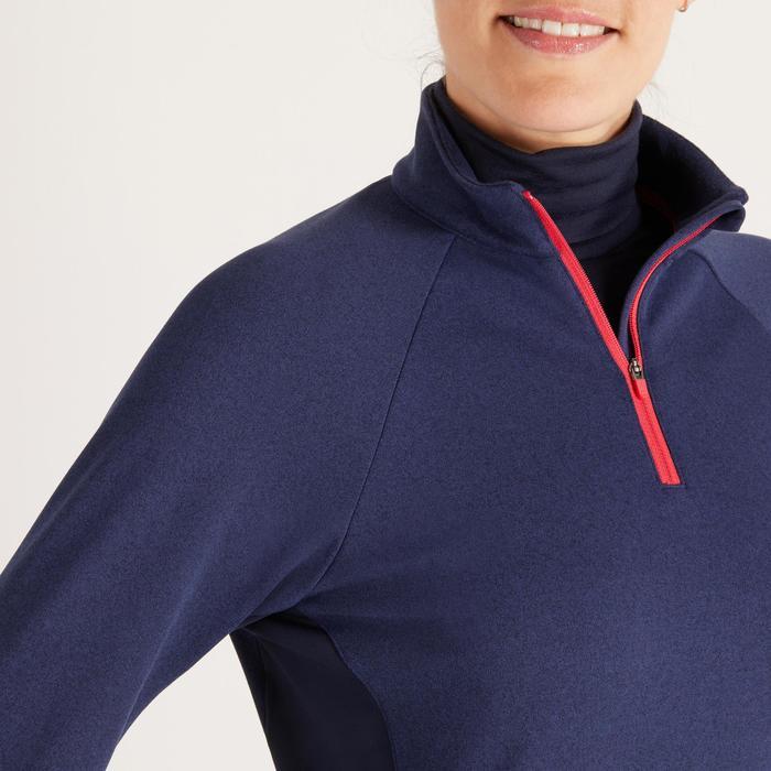Golfrui voor dames, koud weer, marineblauw