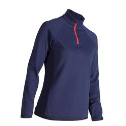 WOMEN'S NAVY COLD-WEATHER GOLFING PULLOVER