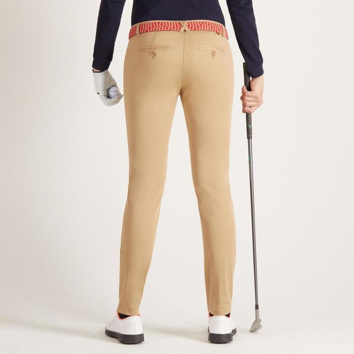 Golfhose Damen beige