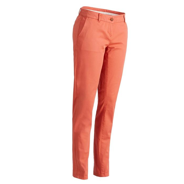 Golfhose Damen Wetter orange