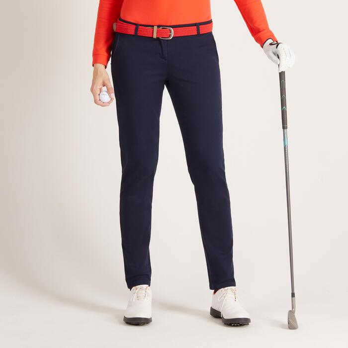 Golfhose Damen Wetter marineblau