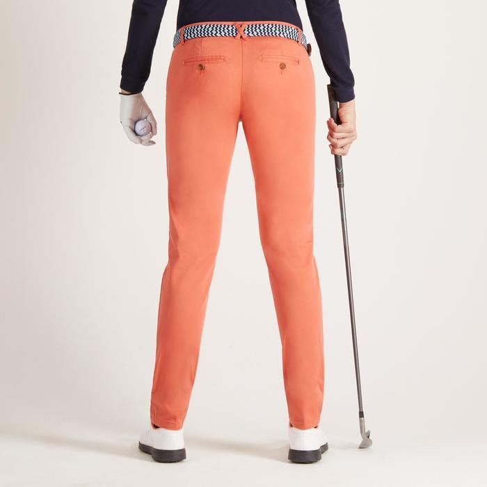 Women's Mild Weather Golf Trousers - Orange