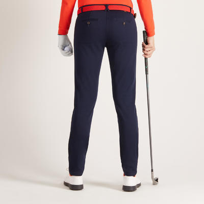 Women's Mild Weather Golf Trousers - Navy