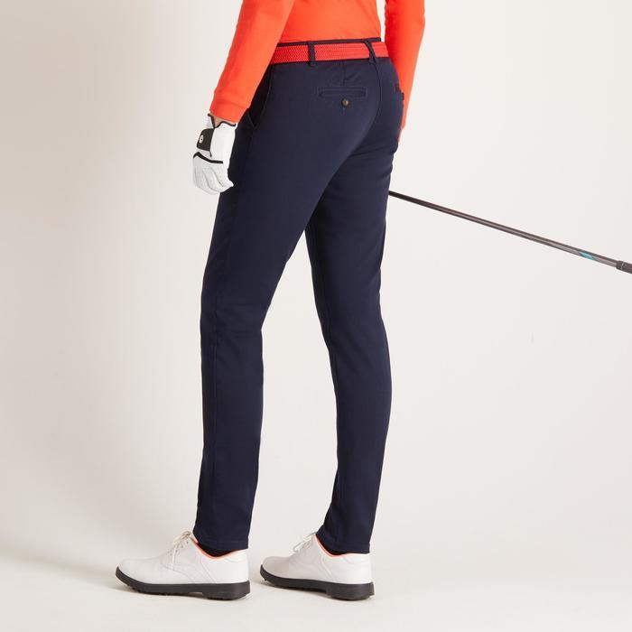 Golfbroek voor dames zacht weer marineblauw