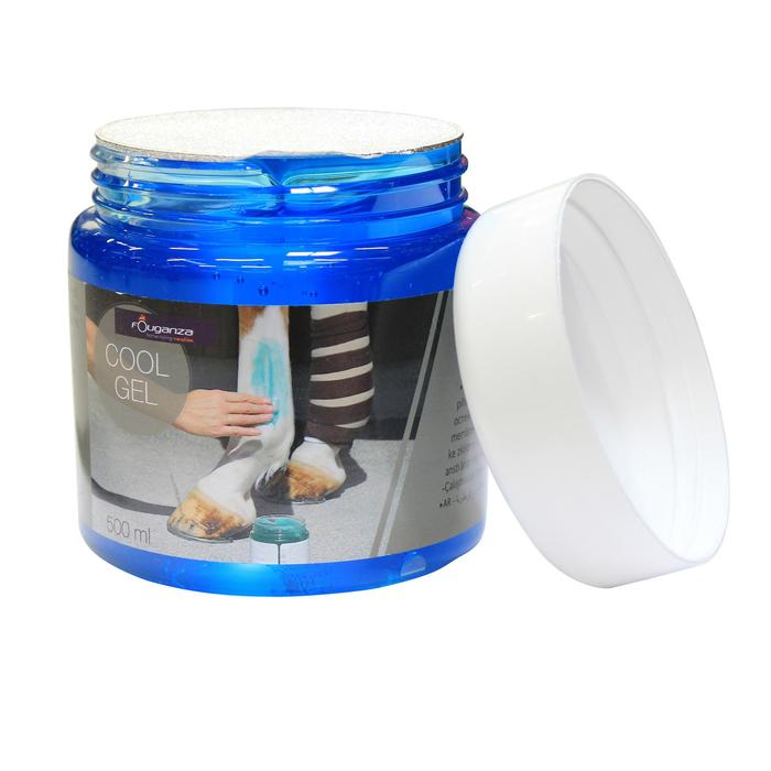 Cool Gel Horse Riding Refreshing Tendon Gel in Jar for Horse and Pony 500 ml