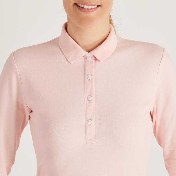 POLO MANCHES LONGUES GOLF FEMME 500 - 1488656