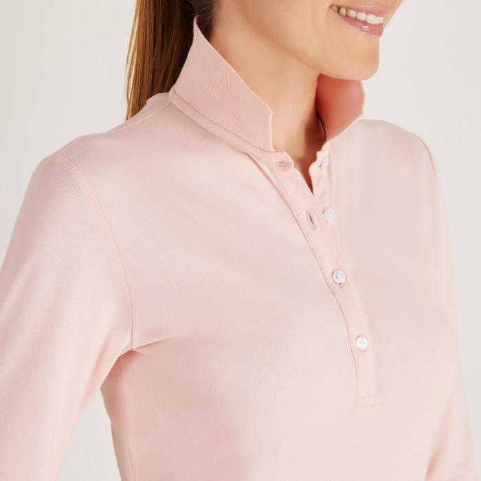 POLO MANCHES LONGUES GOLF FEMME 500 - 1488666
