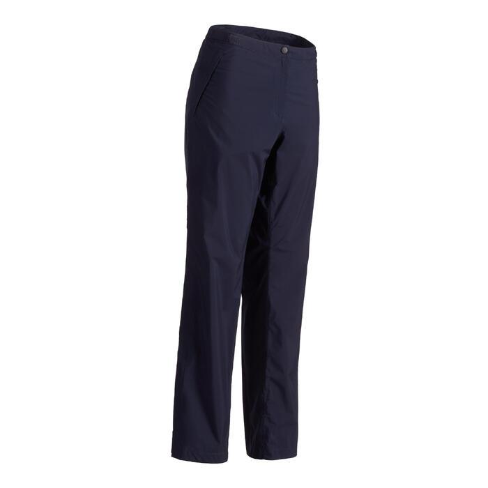 Dames regenbroek 900 voor golf marineblauw - 1488688