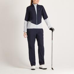 女款高爾夫雨褲-海軍藍