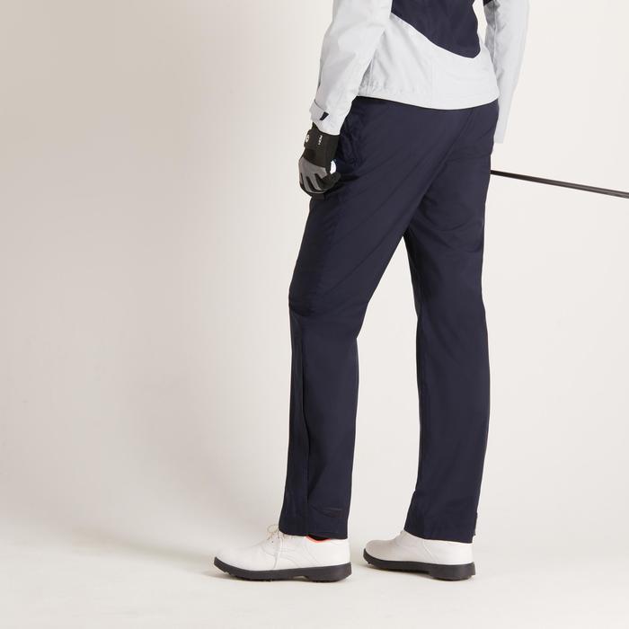 Dames regenbroek 900 voor golf marineblauw - 1488708