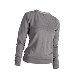 女款高爾夫針織衫-灰色