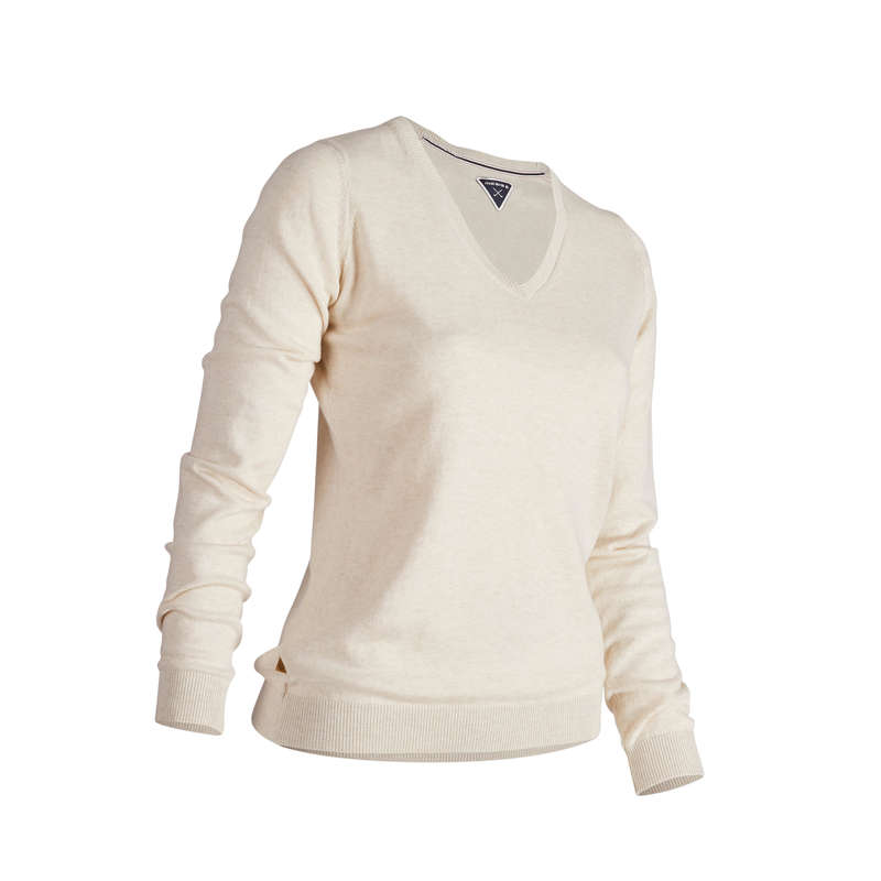 [EN] WOMEN GOLF PULL AND LS POLO MILD WEATHER Imbracaminte - Pulover Golf Damă  INESIS - Topuri
