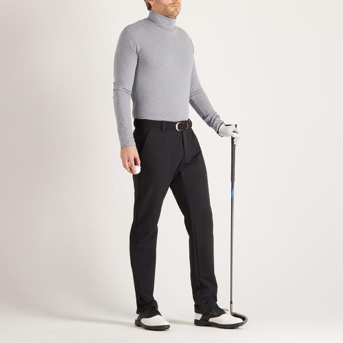 Golf coltrui voor heren, koud weer, grijs