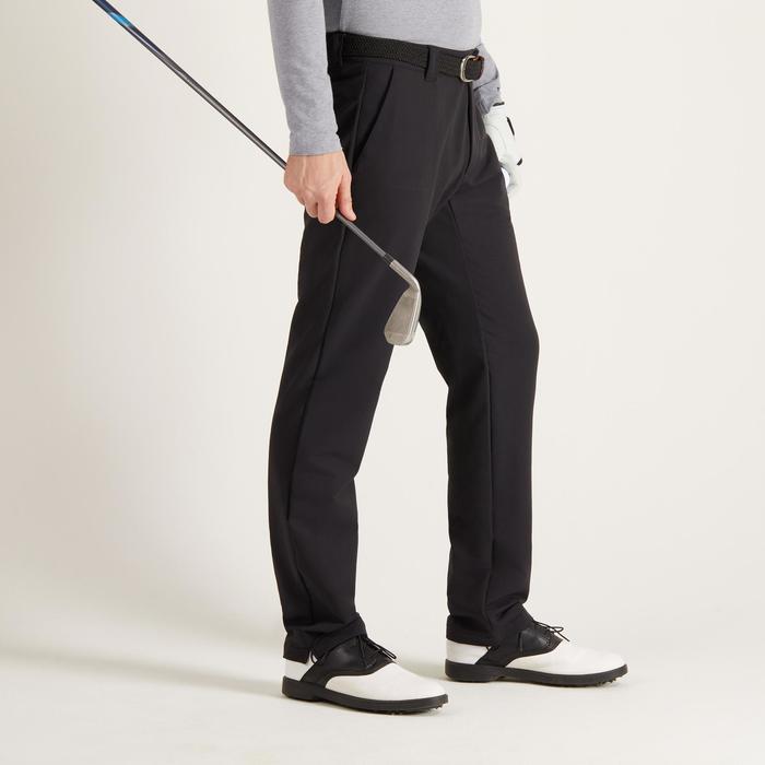 Golfhose warm kühle Witterungen Herren schwarz
