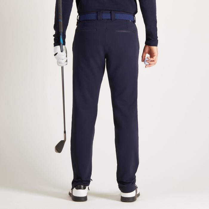 Golfbroek voor heren, koud weer, marineblauw