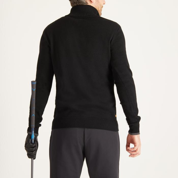 MEN'S NAVY COLD-WEATHER GOLFING PULLOVER - 1488836
