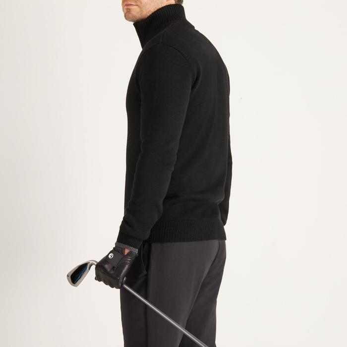 Golfrui voor heren, koud weer, zwart