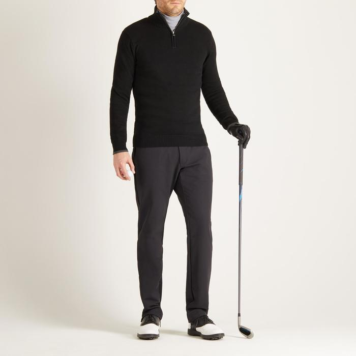 MEN'S NAVY COLD-WEATHER GOLFING PULLOVER - 1488846
