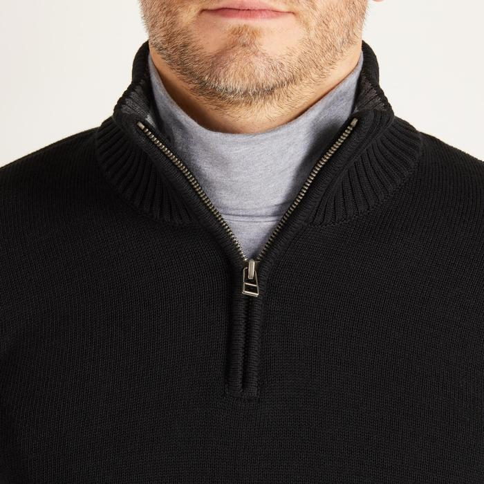MEN'S NAVY COLD-WEATHER GOLFING PULLOVER - 1488847