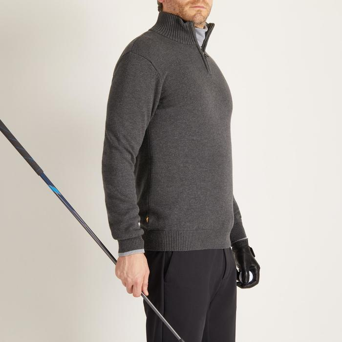 MEN'S NAVY COLD-WEATHER GOLFING PULLOVER - 1488858