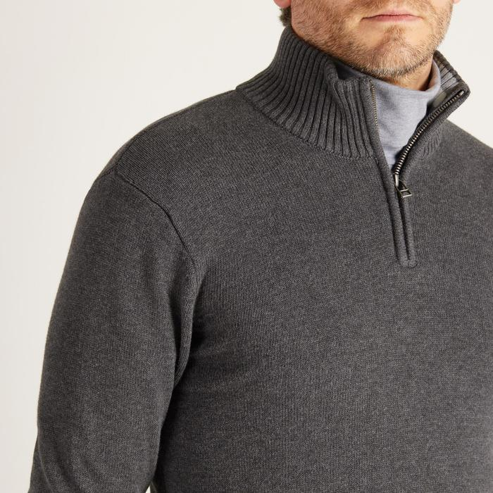 MEN'S NAVY COLD-WEATHER GOLFING PULLOVER - 1488861
