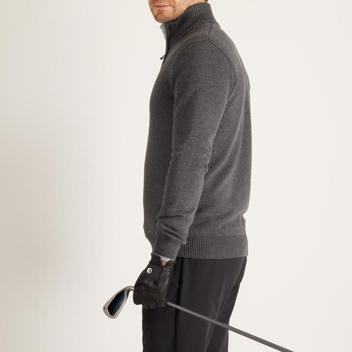 MEN'S NAVY COLD-WEATHER GOLFING PULLOVER - 1488867