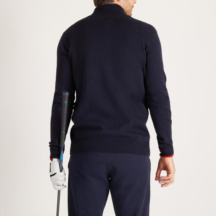 MEN'S NAVY COLD-WEATHER GOLFING PULLOVER - 1488875