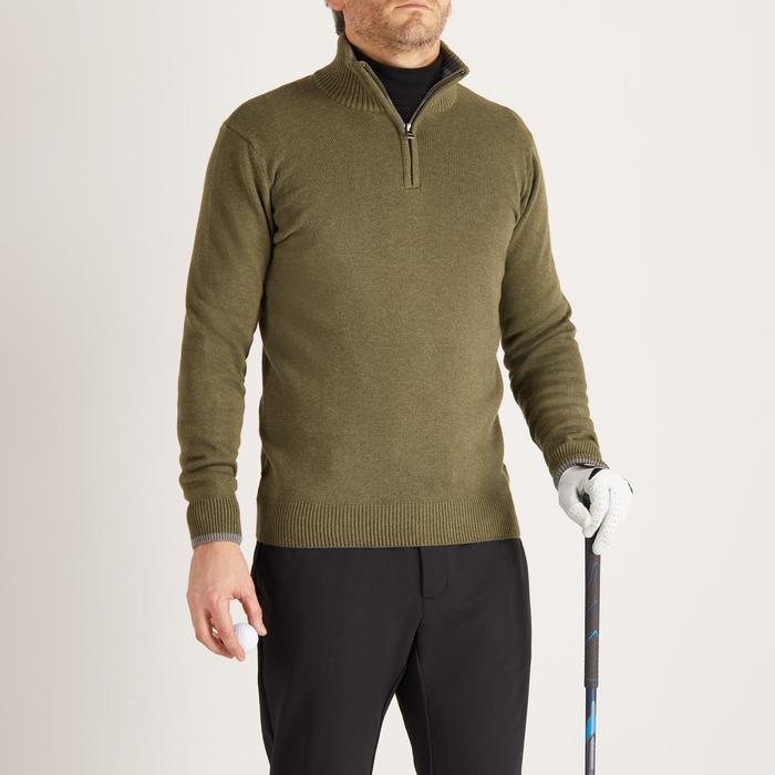 MEN'S NAVY COLD-WEATHER GOLFING PULLOVER - 1488876