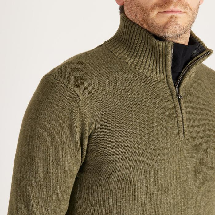 MEN'S NAVY COLD-WEATHER GOLFING PULLOVER - 1488877