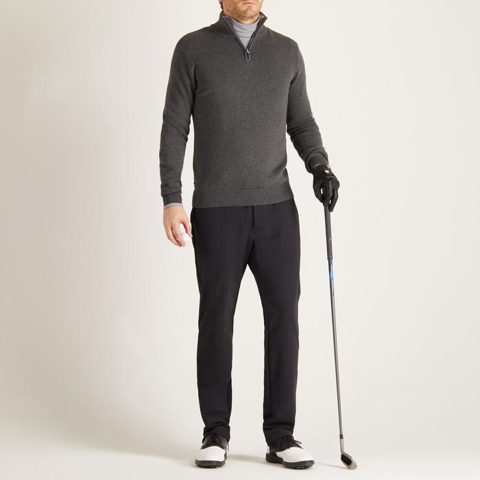 Golfrui voor heren, koud weer, donkergrijs