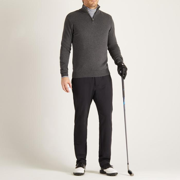 MEN'S NAVY COLD-WEATHER GOLFING PULLOVER - 1488884